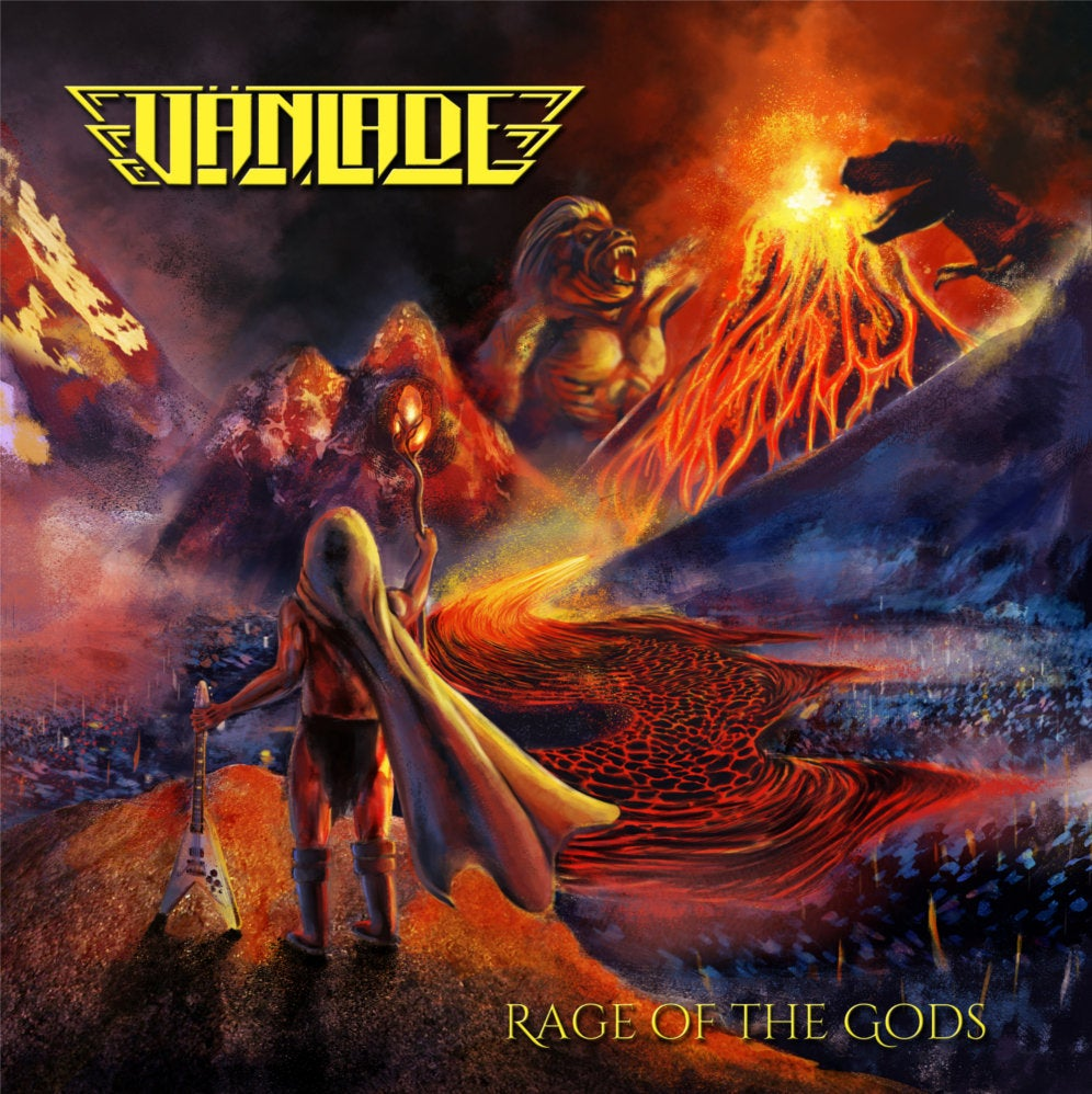 VANLADE - Rage of the Gods CD