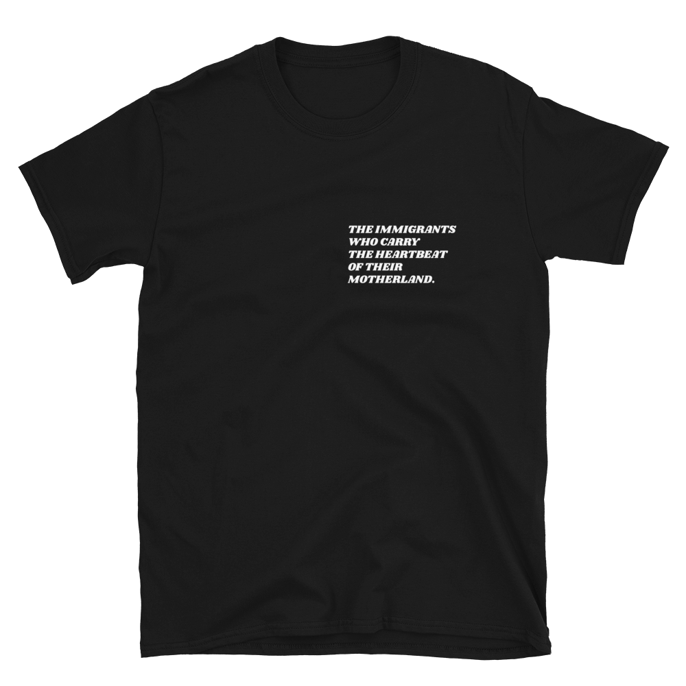 Image of 'First Generation Immigrant' shirt