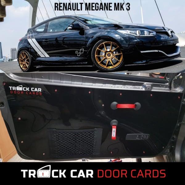 Image of Megane Mk3 - New Material Door Handle - Track Car Door Cards