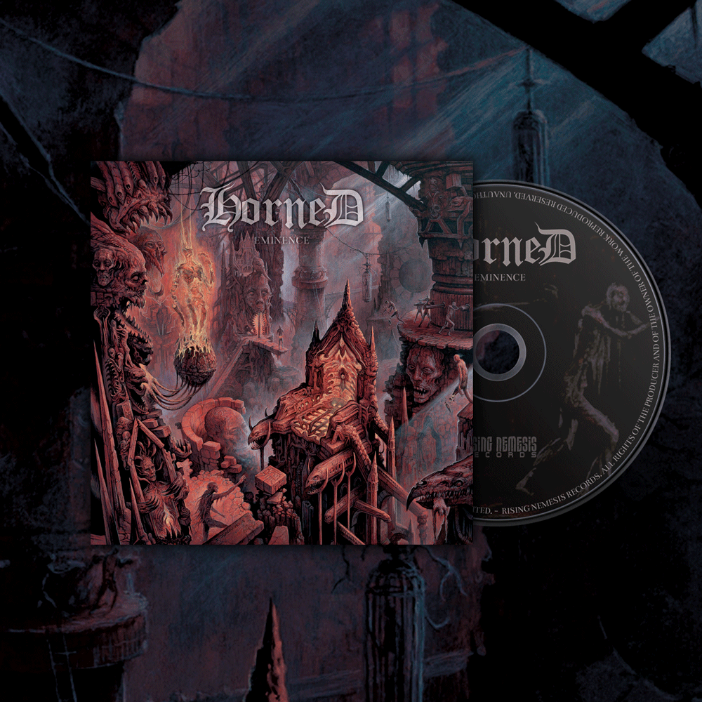 Image of HORNED - Eminence CD-Digipack
