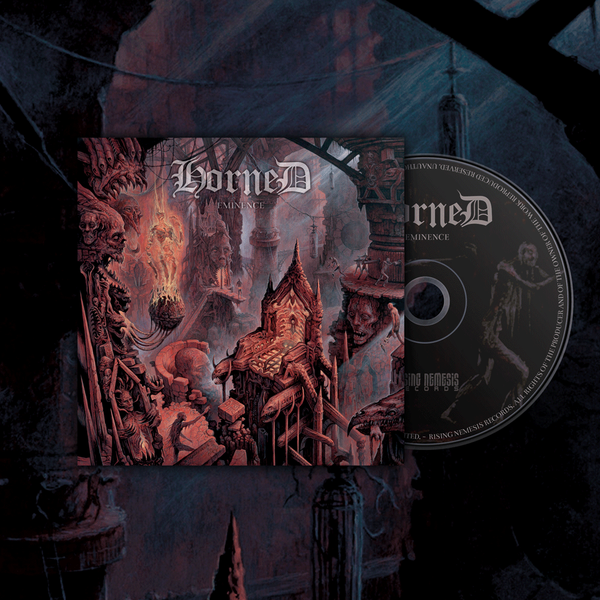 Image of HORNED - Eminence CD-Digipack [pre-order]