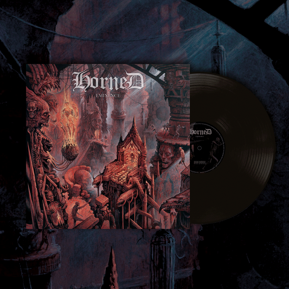 Image of HORNED - Eminence LP (black Vinyl) [pre-order]