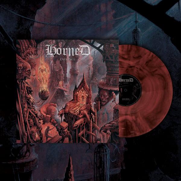 Image of HORNED - Eminence LP (redVinyl) [pre-order]