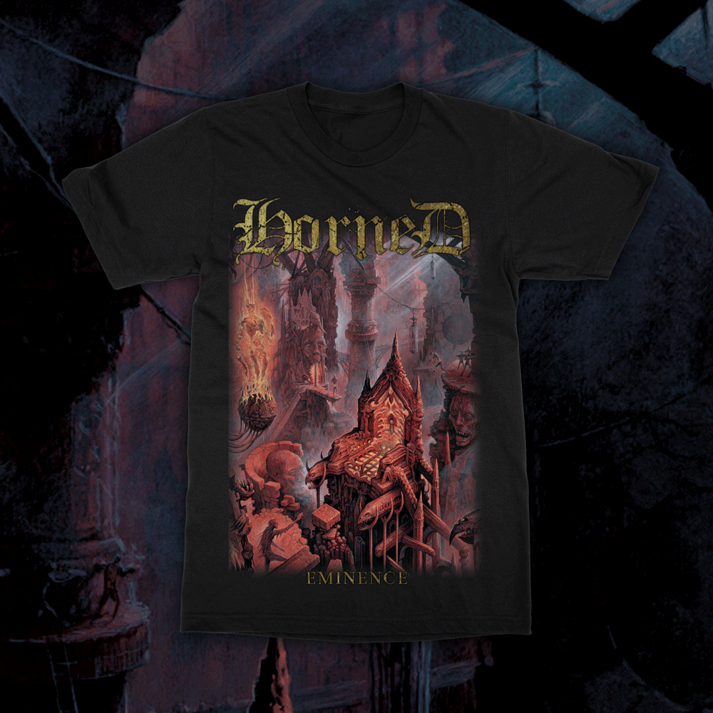 Image of HORNED - Eminence T-Shirt
