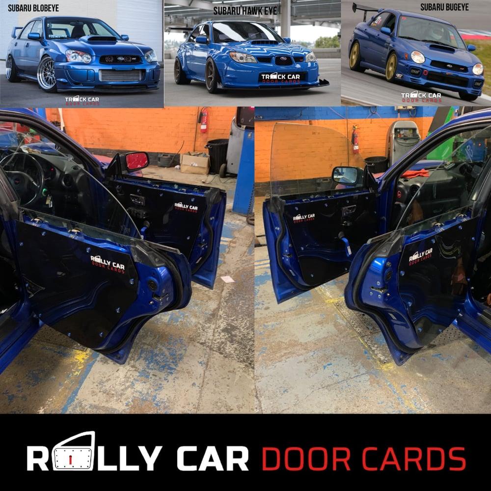 Image of Subaru Bug / Blob / Hawk eye Track Car Door Cards