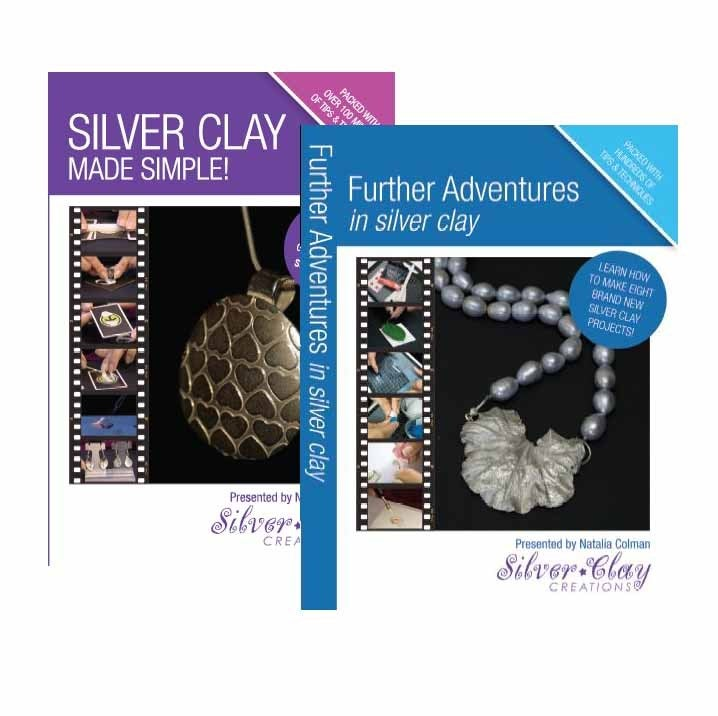 Image of Set of 2 Silver Clay DVDs