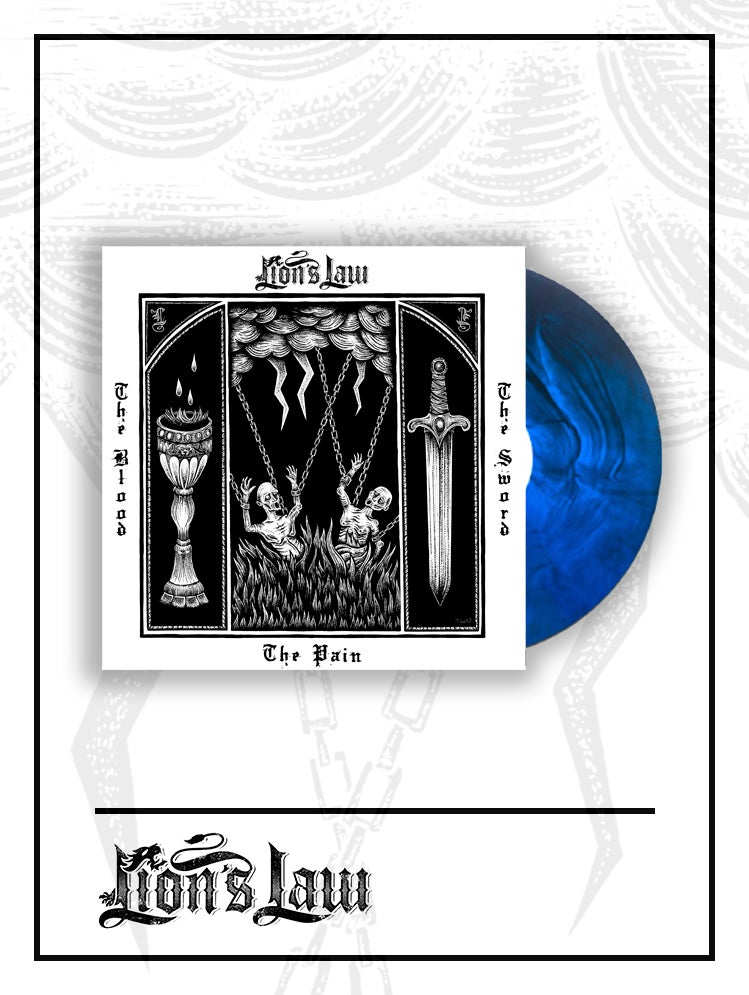 Blue Galaxy LP / The Pain, The Blood And The Sword