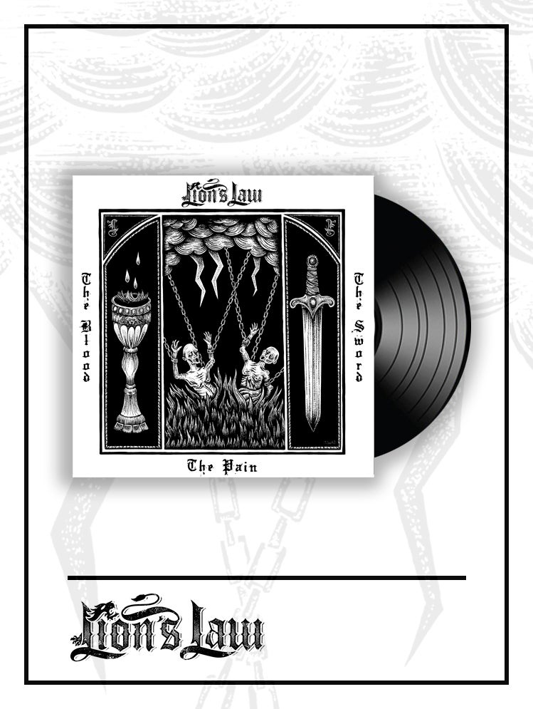 Black LP / The Pain, The Blood And The Sword