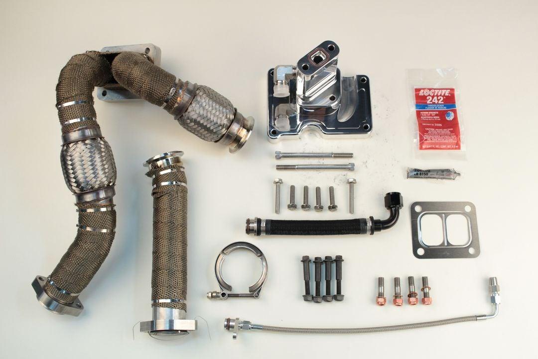 6.0 Powerstroke SoCal Billet S400 T4 Kit