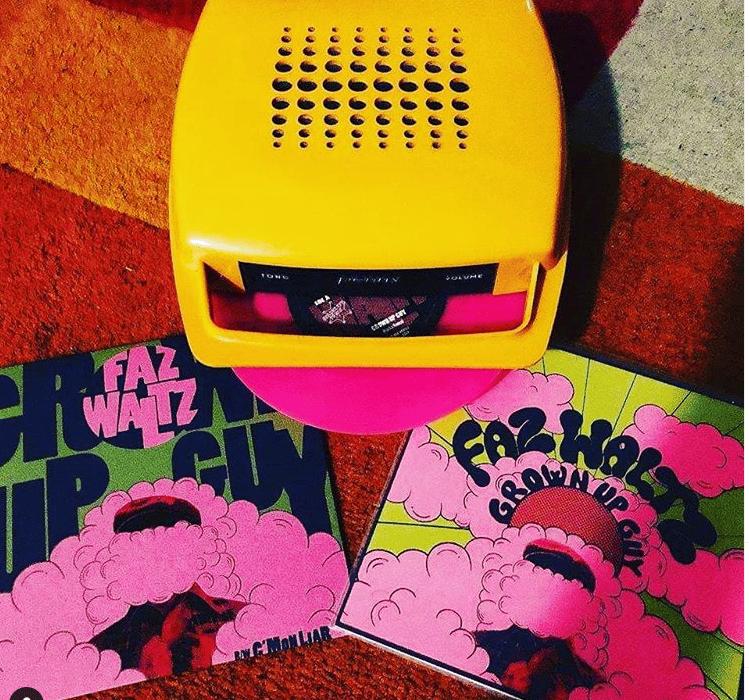 "Faz Waltz ""Grown Up Guy"" vinyl single"