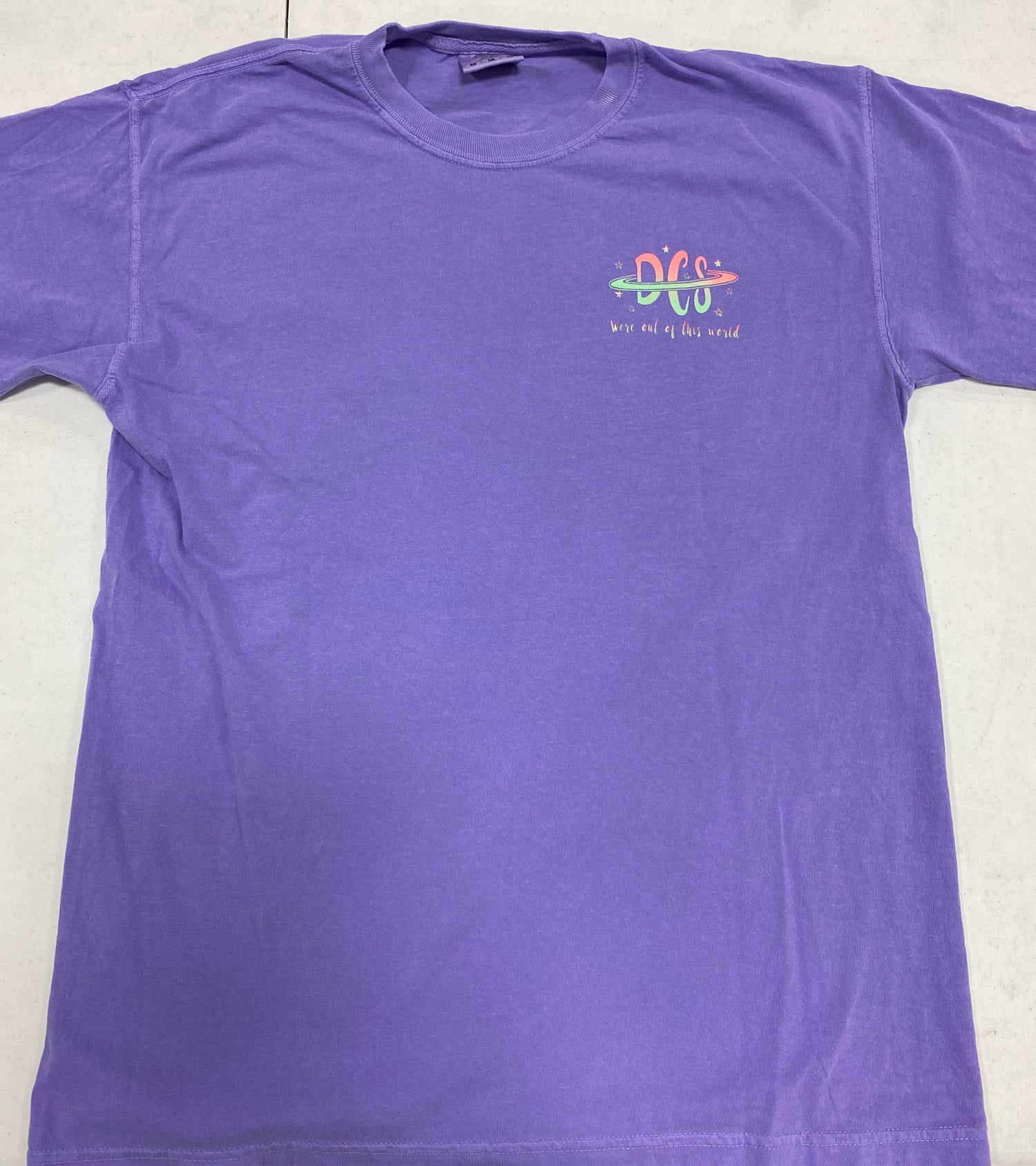 Image of TeamDCS Space Shirt WITHOUT pocket - LONG Sleeve