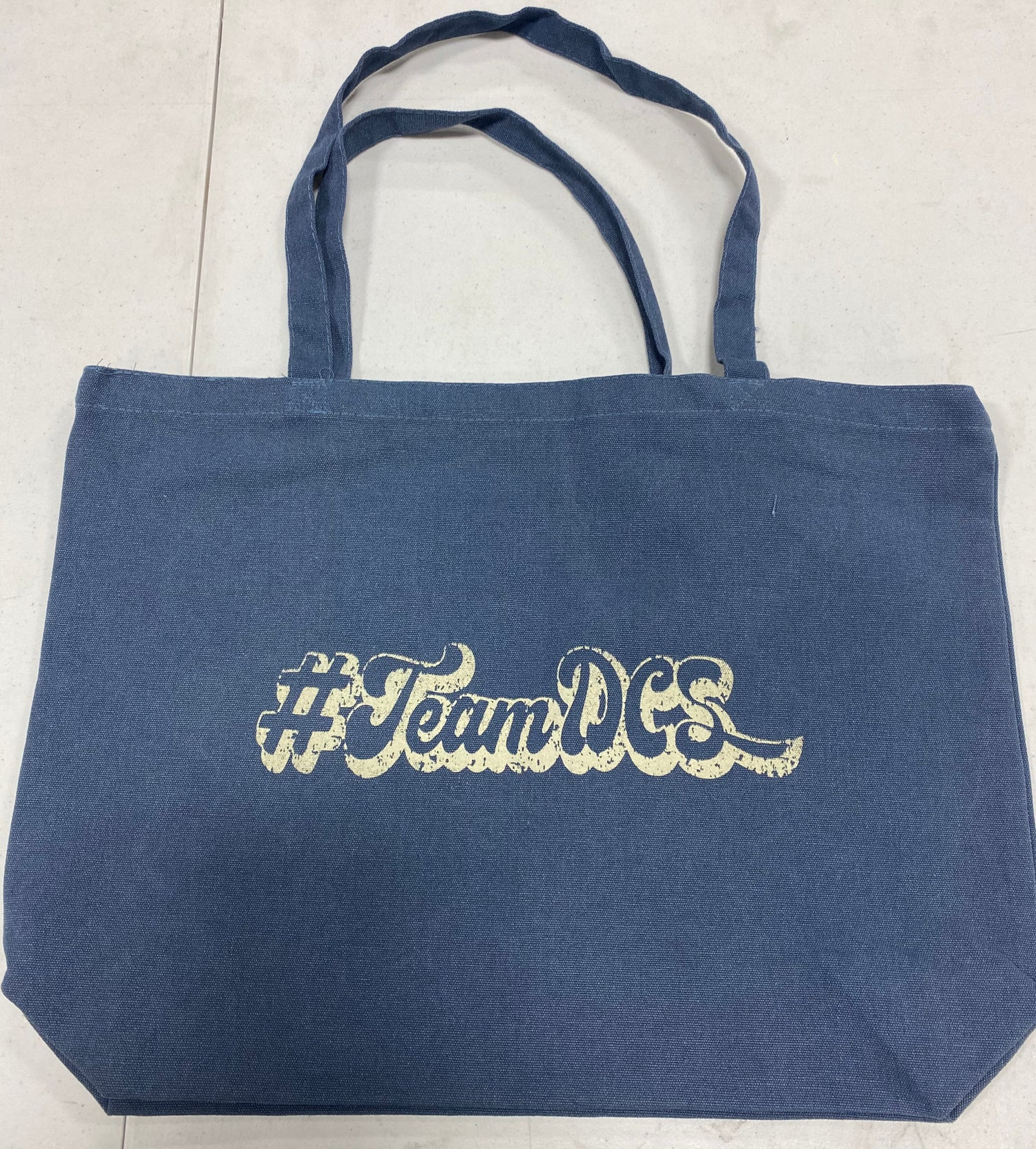 Image of #TeamDCS Large Tote - Blue