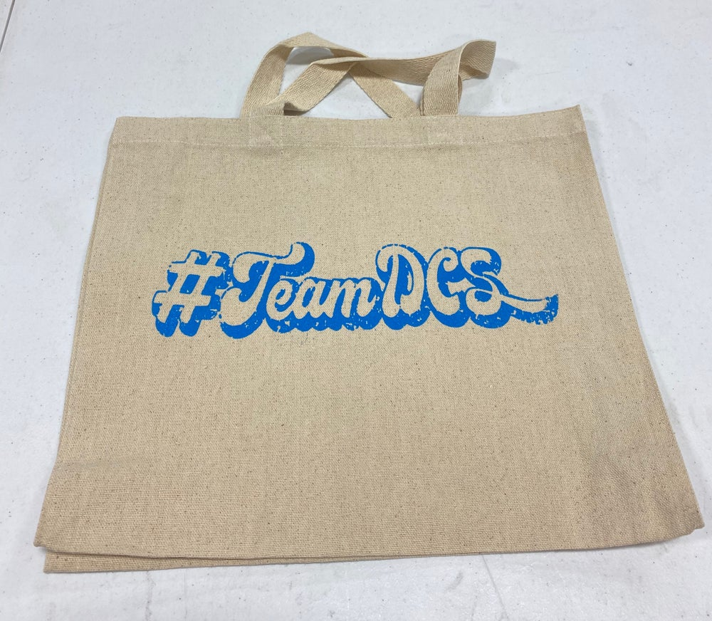 Image of #TeamDCS Tote - Natural