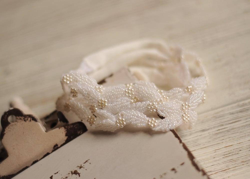 Image of Pretty in pearls halo/headband