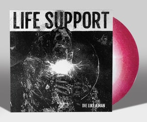 "Image of LIFE SUPPORT ""DIE LIKE A MAN: SPOILS OF DEATH"" EP LIM. 100"
