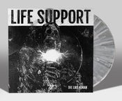 "Image of LIFE SUPPORT ""DIE LIKE A MAN: SOMETHING HAD A NIGHTMARE"" EP LIM. 200"
