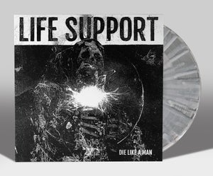 """Image of LIFE SUPPORT """"DIE LIKE A MAN: SOMETHING HAD A NIGHTMARE"""" EP LIM. 200"""