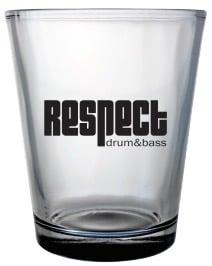Image of Respect 21 Yr Shot Glasses