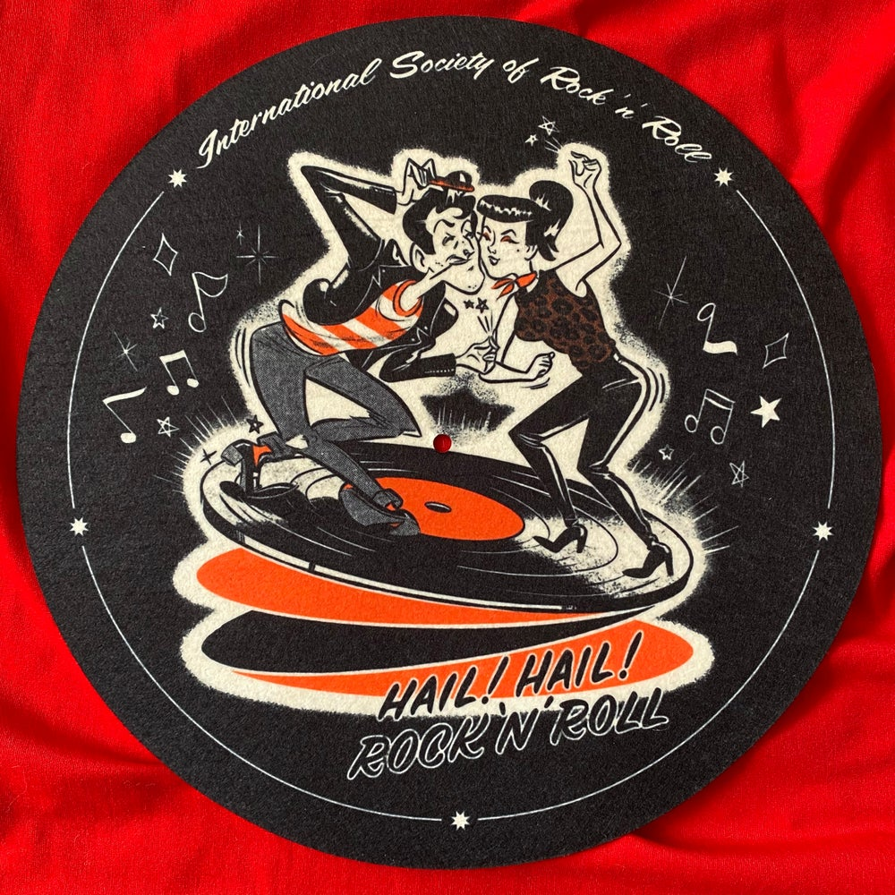 Image of Record Player Slipmat