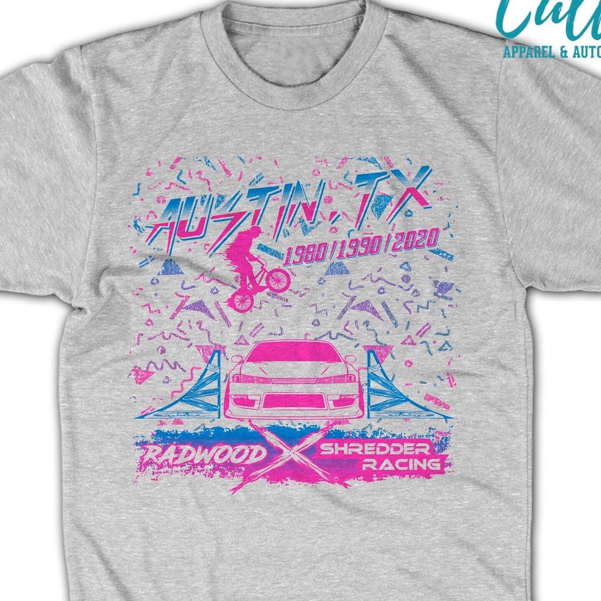 Image of RADWOOD X Shredder Racing shirt