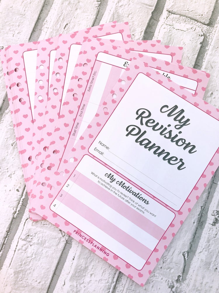 Image of PRETTY REVISION PLANNER INSERTS