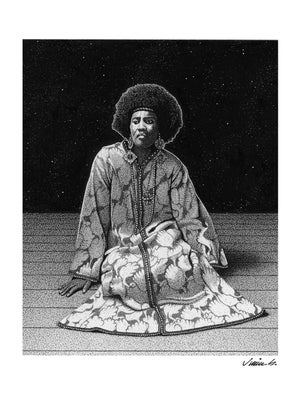 Image of ALICE COLTRANE poster print