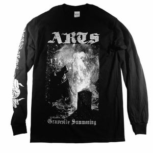 "Image of ARTS ""GRAVESIDE SUMMONING: DAEMONOMIE"" LONG SLEEVE SHIRT"