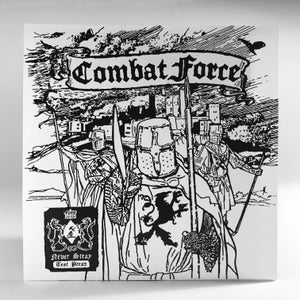 """Image of COMBAT FORCE """"NEVER STRAY: IRON AND BLOOD"""" TEST PRESS"""