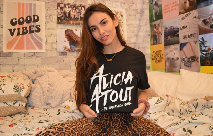 Image of Black and White Alicia Atout Shirt