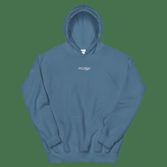 Image of NEUWAY HOODIE (BLUE)