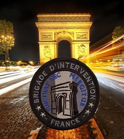 Image of *** FRANCE ONLY*** Brigade d'intervention N°2 Arc de Triomphe BV et Normal