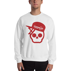 Image of Skull In A Fitted Hat Sweatshirt