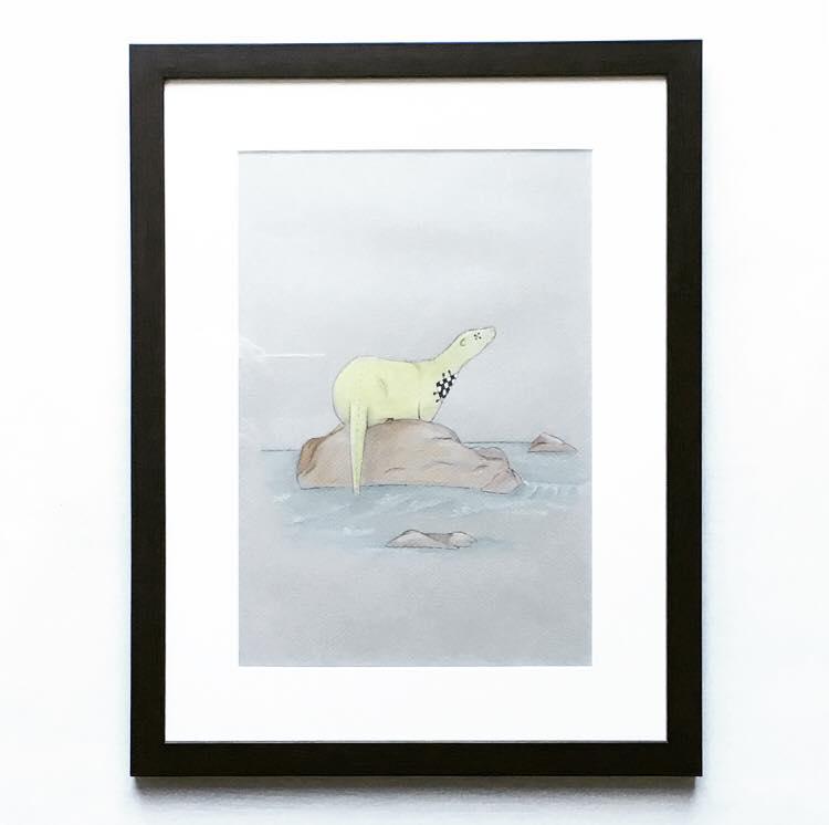 Image of SAVE 70% Otter Illustration