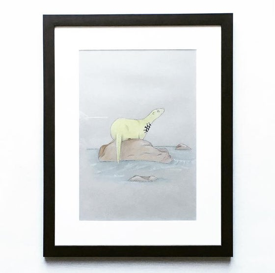 Image of SAVE 70% Otter Illustration