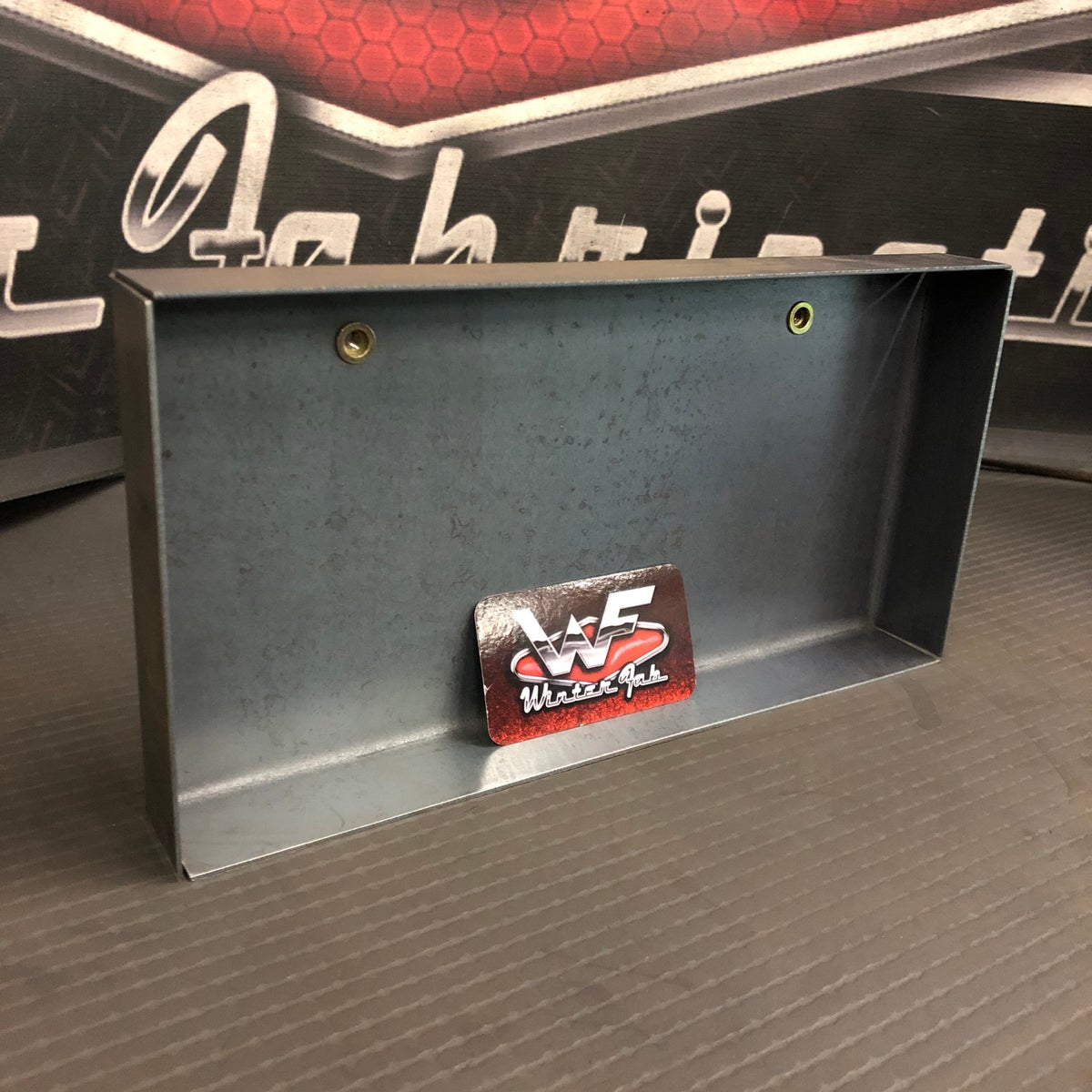 Image of Frenched License Plate Box