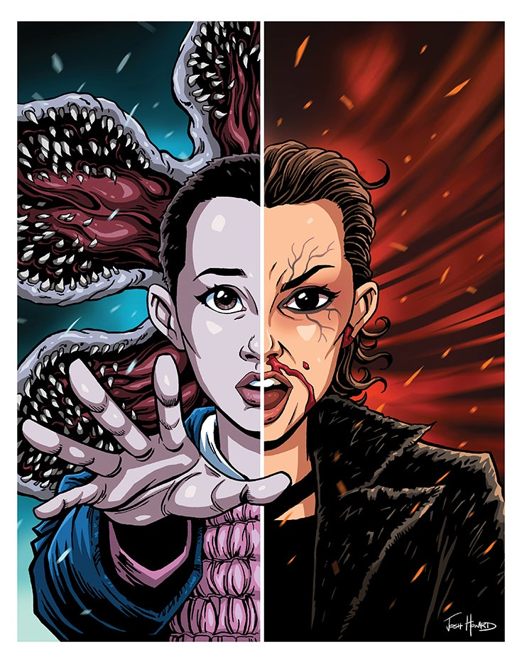 Image of Official STRANGER THINGS Print (Signed & Numbered)