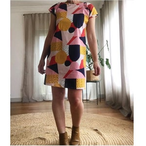Custom Shift Dress - choose your fabric