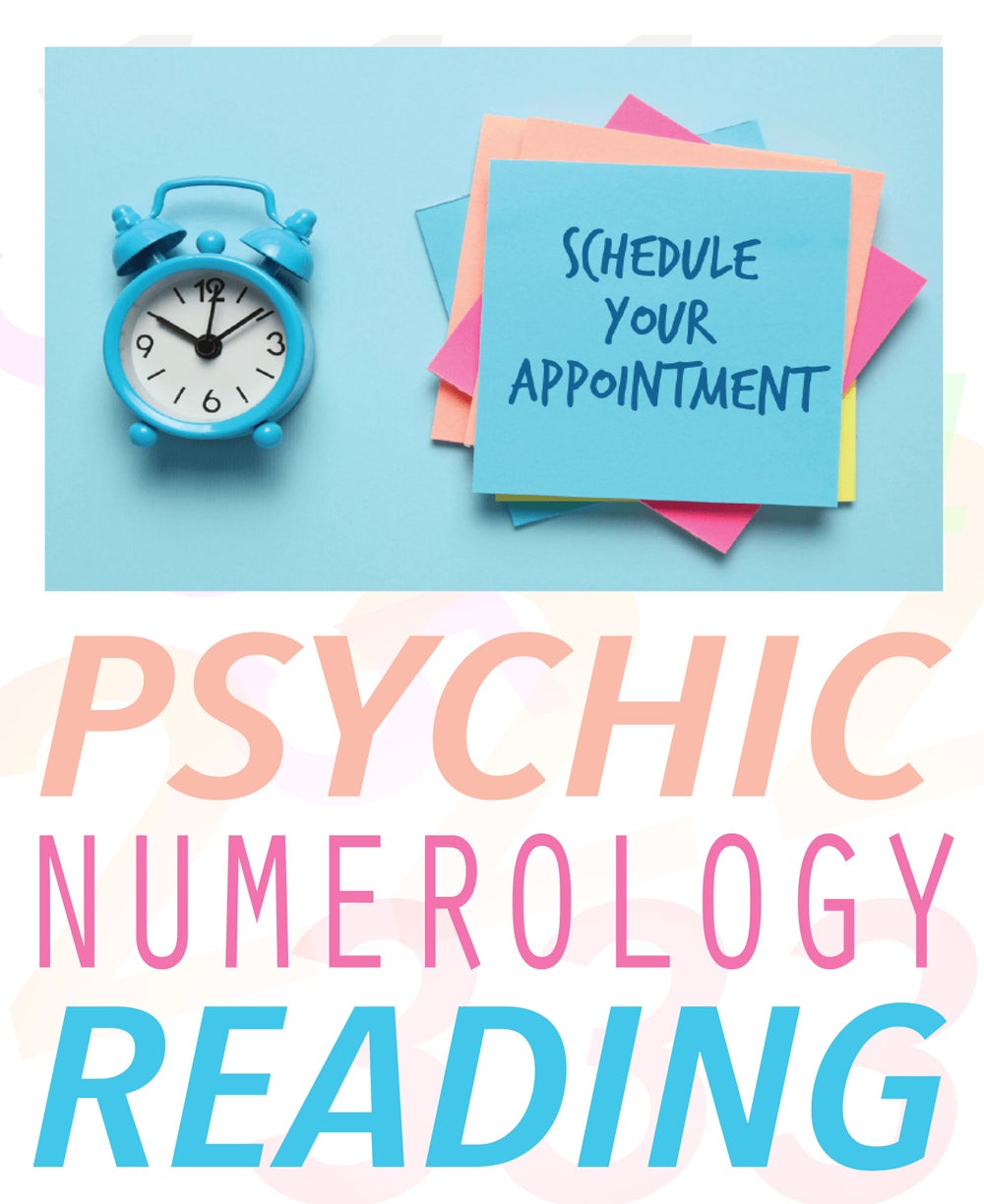 Image of Schedule A Numerology Reading