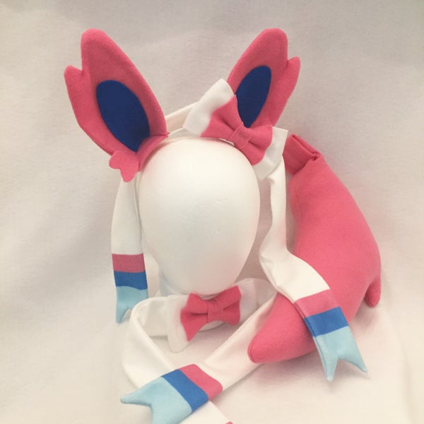 Image of Sylveon Ears, Bowtie, or Tail