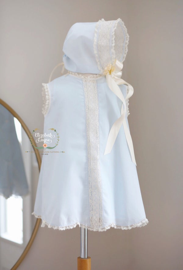 Image of Lily Heirloom Insertion Dress
