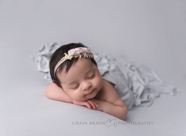 Image of Gray Mist BabyPlush Wrap