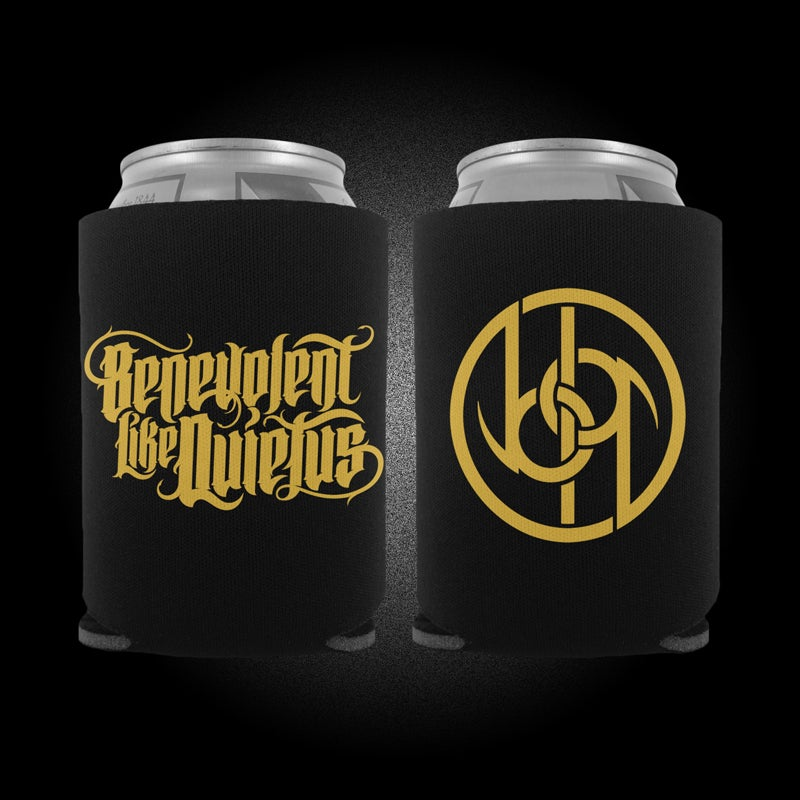 Image of Logo Can Koozie - Gold