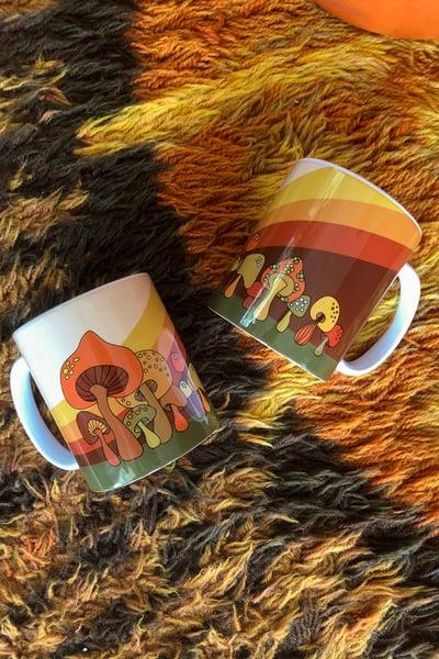 Image of Groovy Mushroom Mug