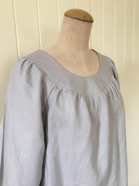 Image of The Dove Grey Smock Top