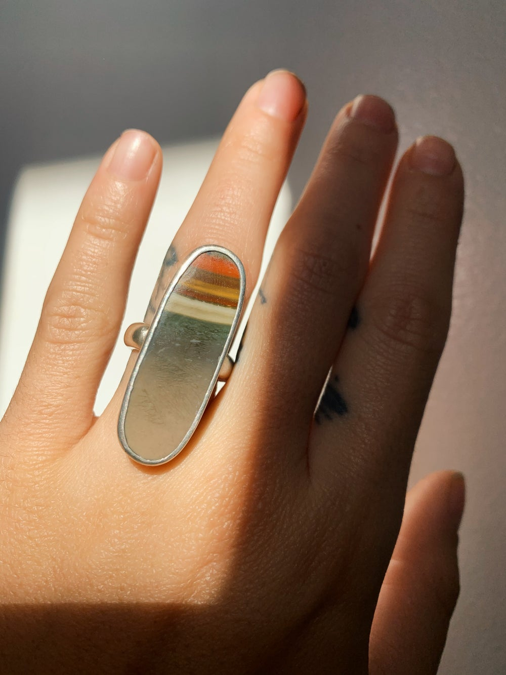 Image of Picture Jasper Ring