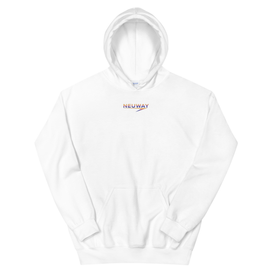 Image of NEUWAY SPECIAL EDITION HOODIE (WHITE)