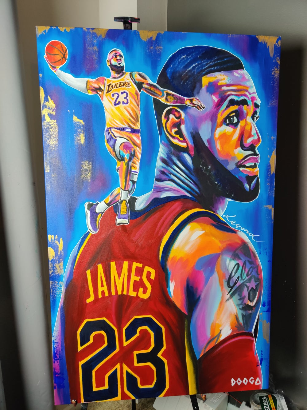 Image of The King - Canvas Print