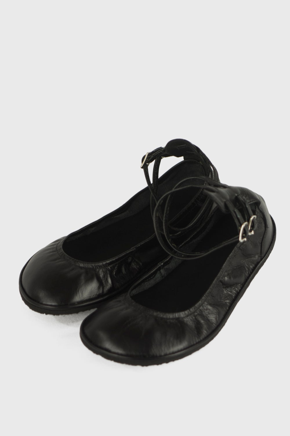 Image of Ballet flats - Two ankle straps - 35 EU wide