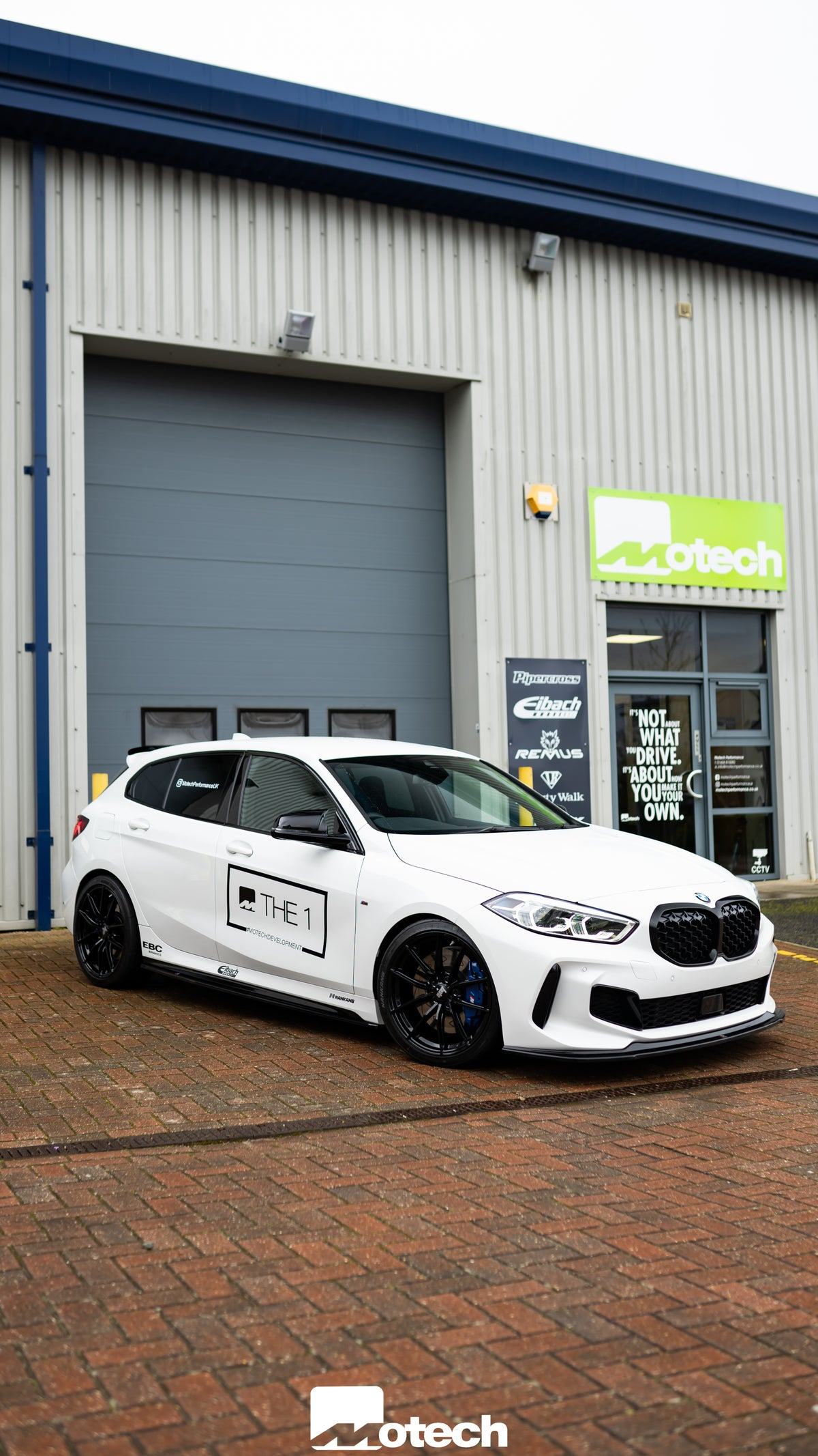 Image of BMW M135i X Drive F40 Maxton Design Kit