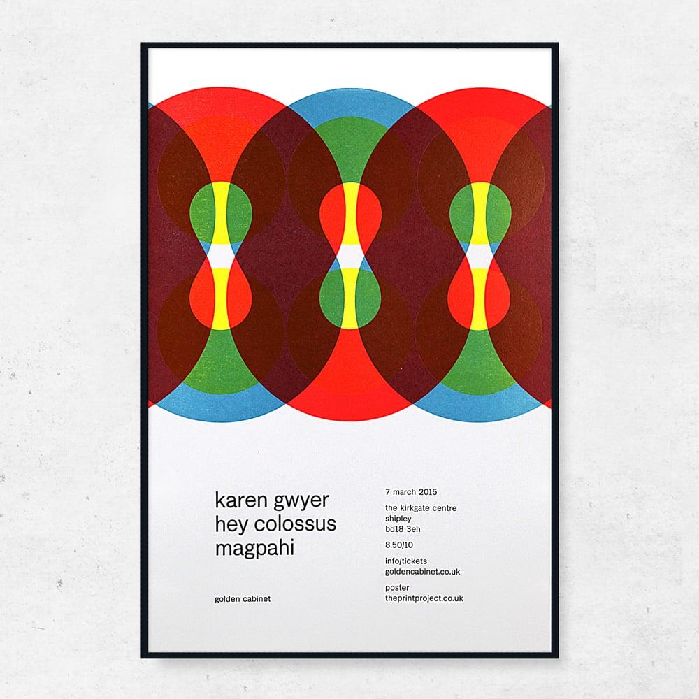 Image of Karen Gwyer Golden Cabinet Poster
